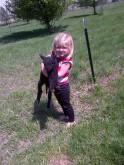 It's a black lamb named ...Lily.