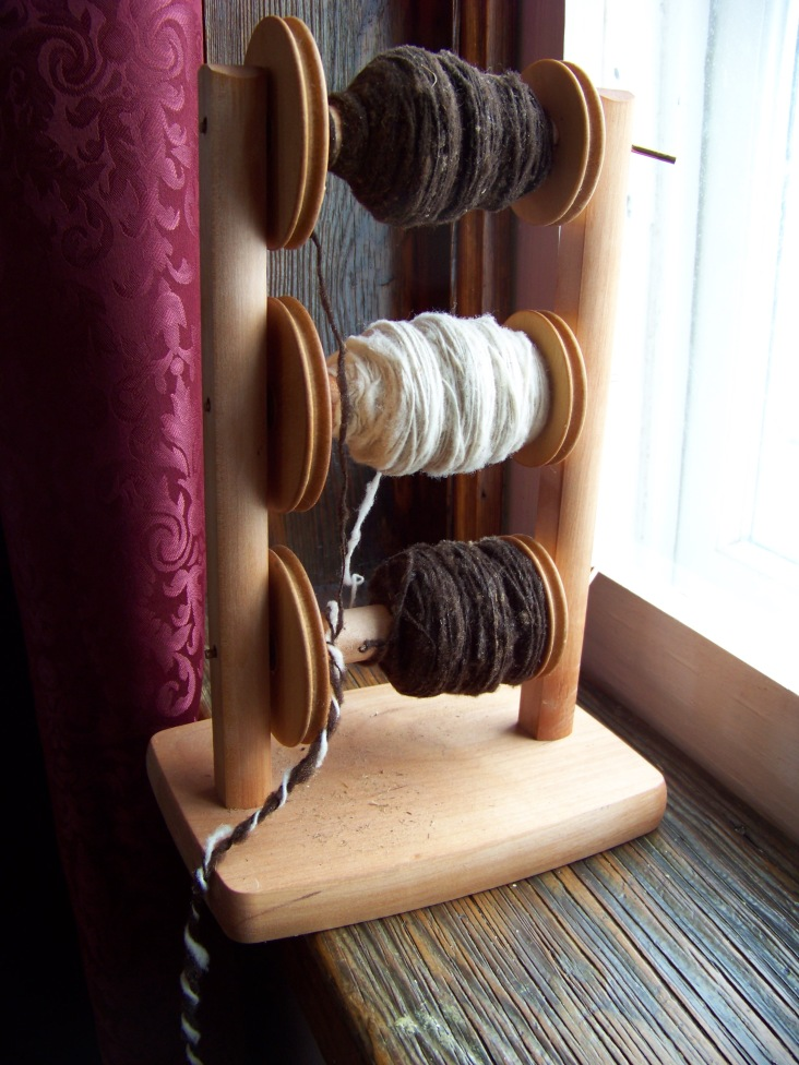 The magic is in the spinning. It all comes together in the moment when fibers lock together and become a strong thread. Wool is the incredible stuff which has kept people warm and protected throughout the ages, and still makes some of the best clothing and blankets you can get.